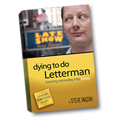 Dying to Do Letterman Book