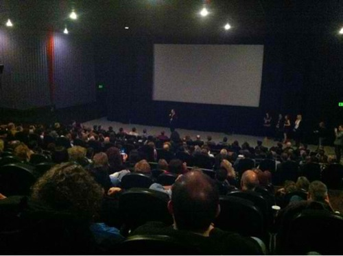 Sold out crowd dying to do letterman cinequest