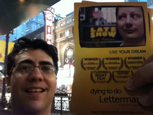 Biagio messina rain dying to do letterman chicago